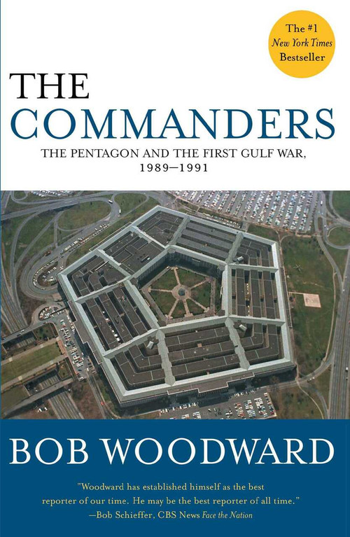 The Commanders by Bob Woodward, 9780743234757