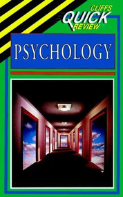 CliffsQuickReview Psychology by Theo Sonderegger, 9780822053279
