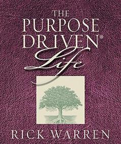 The Purpose Driven Life (Miniature Edition) by Rick Warren, 9780762416844