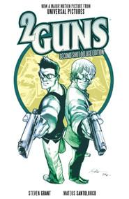 2 Guns: Second Shot Deluxe Edition by Steven Grant, Mateus Santolouco, 9781608863105
