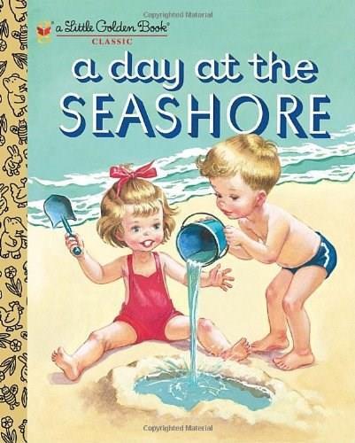 A Day at the Seashore by Kathryn Jackson, Byron Jackson, Corinne Malvern, 9780375854255