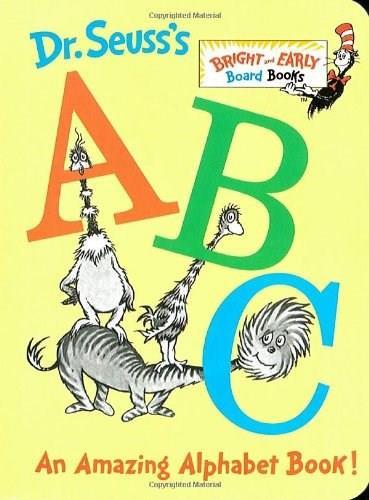 Dr. Seuss's ABC (An Amazing Alphabet Book!) (Miniature Edition) - 9780679882817 by Dr. Seuss, 9780679882817