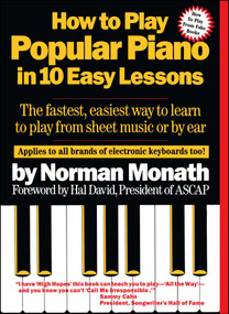 How To Play Popular Piano In 10 Easy Lessons by Norman Monath, 9780671530679