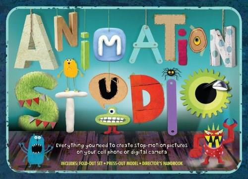 Animation Studio by Helen Piercy, Various, 9780763667016