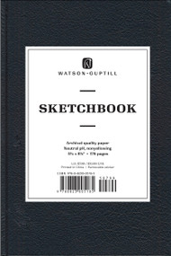 Medium Sketchbook (Kivar, Black) by Watson-Guptill, 9780823005185