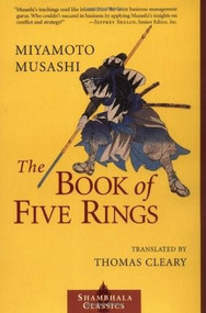 The Book of Five Rings - 9781570627484 by Miyamoto Musashi, Thomas Cleary, 9781570627484