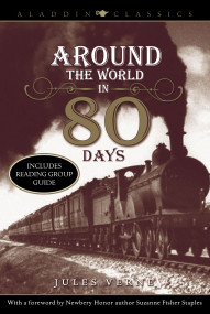 Around the World in 80 Days by Jules Verne, Laurence Yep, 9781416939368