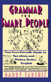 Grammar for Smart People by Barry Tarshis, 9780671750442