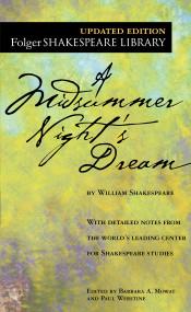 A Midsummer Night's Dream - 9780743477543 by William Shakespeare, Dr. Barbara A. Mowat, Paul Werstine, 9780743477543