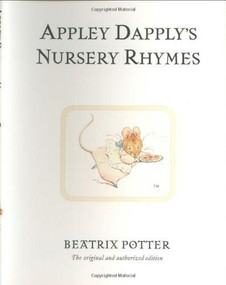 Appley Dapply's Nursery Rhymes (Miniature Edition) by Beatrix Potter, 9780723247913