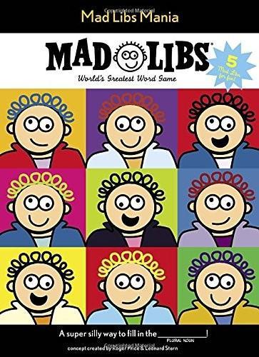 Mad Libs Mania by Mad Libs, 9780843182897