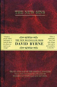 The New Sins (Miniature Edition) by David Byrne, 9781932416589