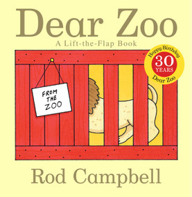Dear Zoo (A Lift-the-Flap Book) by Rod Campbell, Rod Campbell, 9781416947370