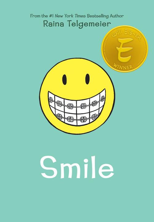 Smile by Raina Telgemeier, Raina Telgemeier, 9780545132053