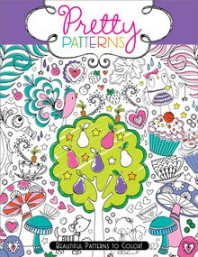Pretty Patterns (Beautiful Patterns to Color!) by Hannah Davies, Beth Gunnell, 9781442451810