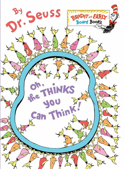 Oh, the Thinks You Can Think! (Miniature Edition) by Dr. Seuss, 9780375857942