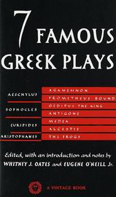 Seven Famous Greek Plays by Whitney J. Oates, 9780394701257