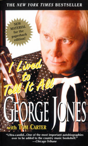 I Lived to Tell It All by George Jones, Tom Carter, 9780440223733