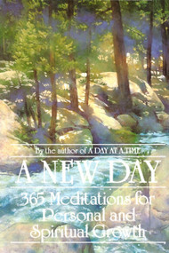 A New Day (365 Meditations for Personal and Spiritual Growth) (Miniature Edition) by Anonymous, 9780553345919