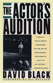 The Actor's Audition by David Black, 9780679732280