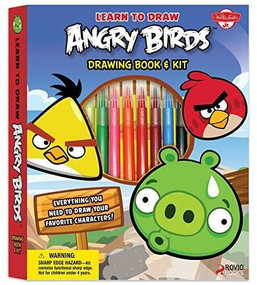 Learn to Draw Angry Birds Drawing Book & Kit (Includes everything you need to draw your favorite Angry Birds characters!) by Walter Foster Creative Team, 9781600583735