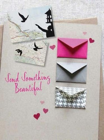 Send Something Beautiful (Fold, pull, print, cut, and turn paper into collectible keepsakes and memorable mail) by Emily Hogarth, 9781600584473