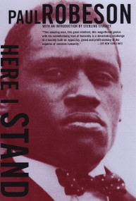 Here I Stand by Paul Robeson, 9780807064450
