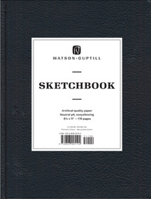 Large Sketchbook (Kivar, Black) by Watson-Guptill, 9780823005192