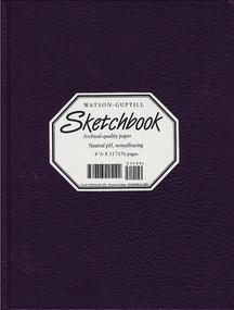 Large Sketchbook (Kivar, Blackberry) by Watson-Guptill, 9780823057191