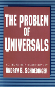 The Problem of Universals by Andrew B. Schoedinger, 9781573923781