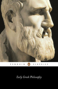 Early Greek Philosophy by Various, Jonathan Barnes, 9780140448153