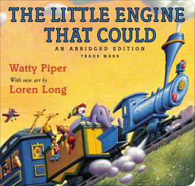 The Little Engine That Could (Loren Long Edition) by Watty Piper, Loren Long, 9780399173875