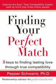 Finding Your Perfect Match (8 Keys to Finding Lasting Love Through True Compatibility) by Pepper Schwartz, 9780399532443