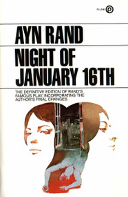 The Night of January 16th by Ayn Rand, 9780452264861