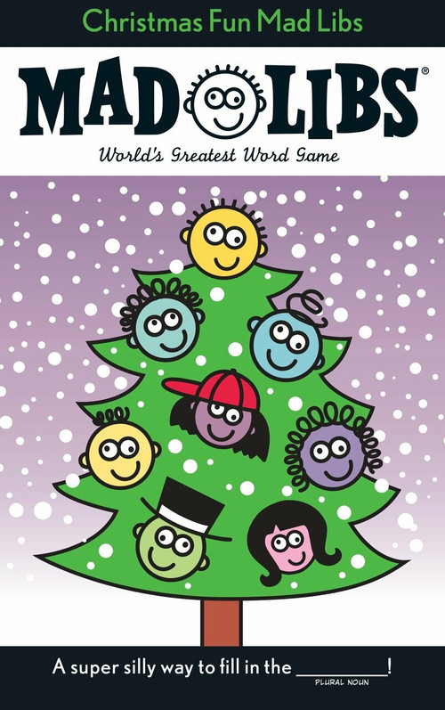 Christmas Fun Mad Libs (Stocking Stuffer Mad Libs) by Roger Price, Leonard Stern, 9780843112382