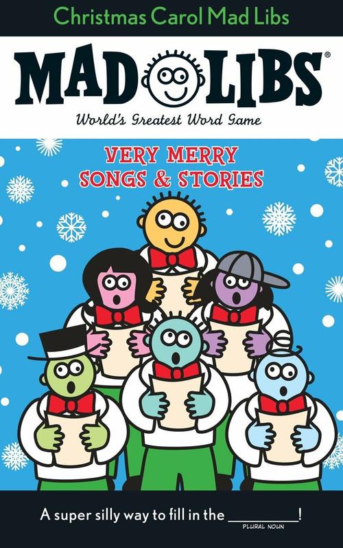 Christmas Carol Mad Libs (Stocking Stuffer Mad Libs) by Roger Price, Leonard Stern, 9780843126761
