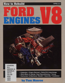 How to Rebuild Ford V-8 Engines by Tom Monroe, 9780895860361