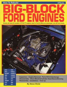 How to Rebuild Big-Block Ford Engines by Steve Christ, 9780895860705