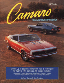 Camaro Restoration Handbook (Ground-Up or Sectional Restoration Tips & Techniques for 1967 to 1981 Camaros) by Ron Sessions, 9780895863751