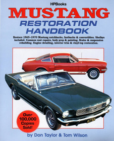 Mustang Restoration Handbook (Restore 1965-1970 Mustang Notchbacks, Fastbacks & Convertibles) by Don Taylor, 9780895864024