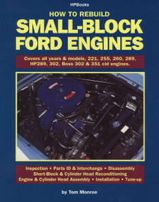 How to Rebuild Small-Block Ford Engines by Tom Monroe, 9780912656892