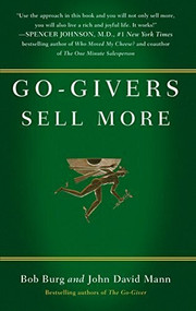 Go-Givers Sell More by Bob Burg, John David Mann, 9781591843085