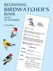 Beginning Birdwatcher's Book (With 48 Stickers) by Sy Barlowe, 9780486410593