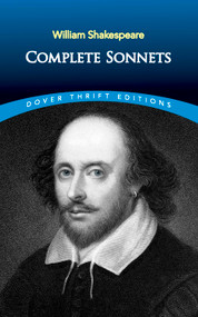 Complete Sonnets by William Shakespeare, 9780486266862