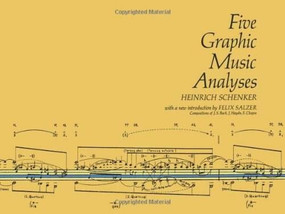 Five Graphic Music Analyses by Heinrich Schenker, 9780486222943