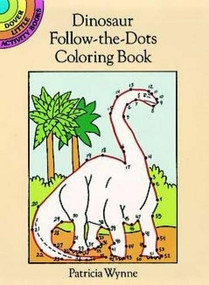 Dinosaur Follow-the-Dots Coloring Book (Miniature Edition) by Patricia J. Wynne, 9780486279916