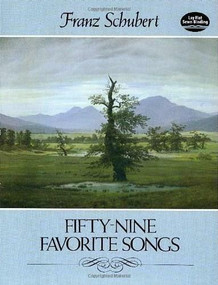 Fifty-Nine Favorite Songs by Franz Schubert, 9780486248493
