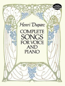 Complete Songs for Voice and Piano - 9780486284668 by Henri Duparc, 9780486284668
