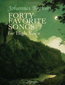 Forty Favorite Songs for High Voice by Johannes Brahms, 9780486435770