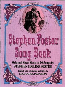 Stephen Foster Song Book by Stephen Foster, 9780486230481